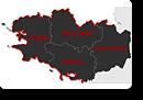 Karte Norddeutschland - Deutschland Show - Schweizer Leuchtturm GmbH