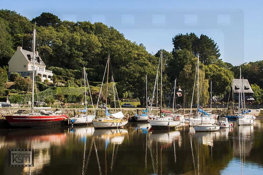 Fotografie Pont-Aven Hafen - Copyright by ksm-fotografie