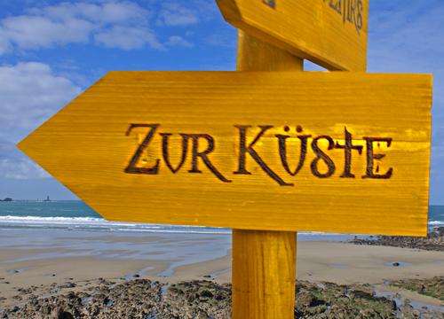 Wegweiser Küste - Schweizer Leuchtturm GmbH